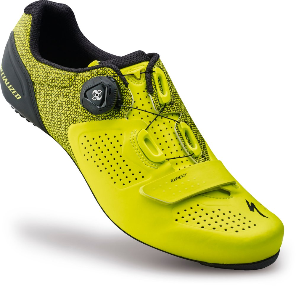 SPECIALIZED EXPERT RD SHOE NEON YEL 43/9.6