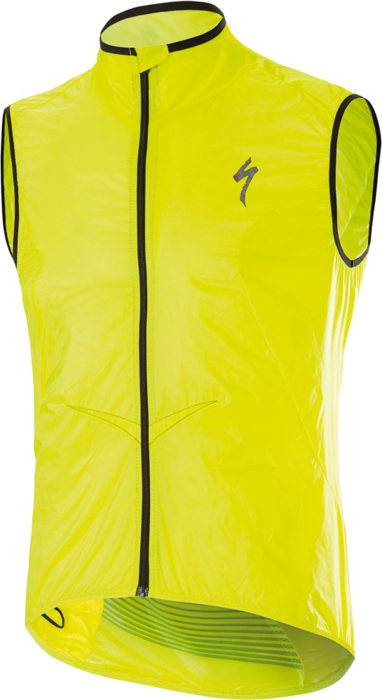 Specialized Deflect Comp Wind Vest Neon Yellow X-Large