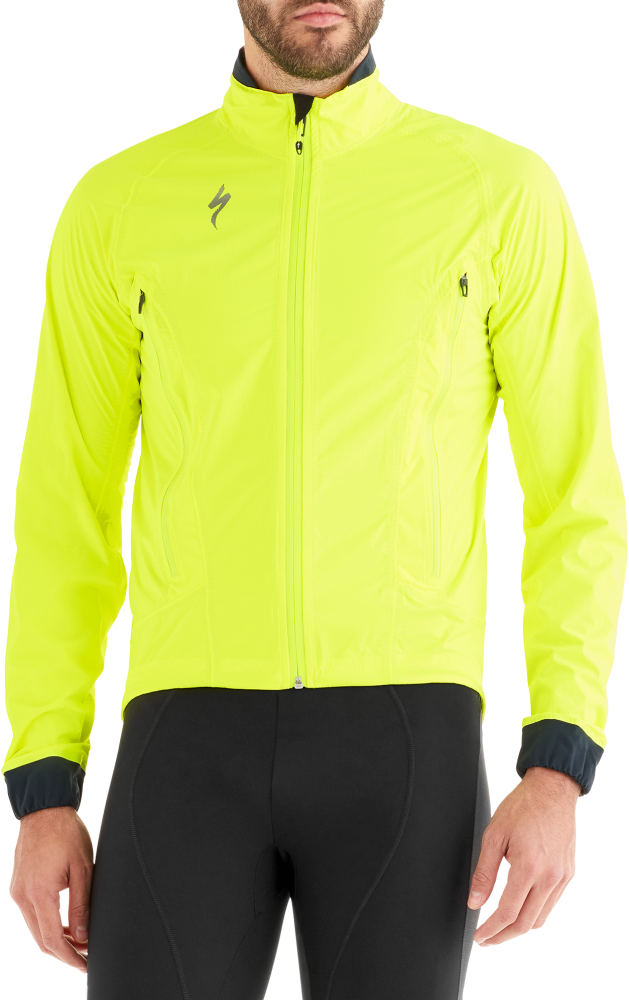 Specialized Deflect™ H2O Road Jacket Neon Yellow M